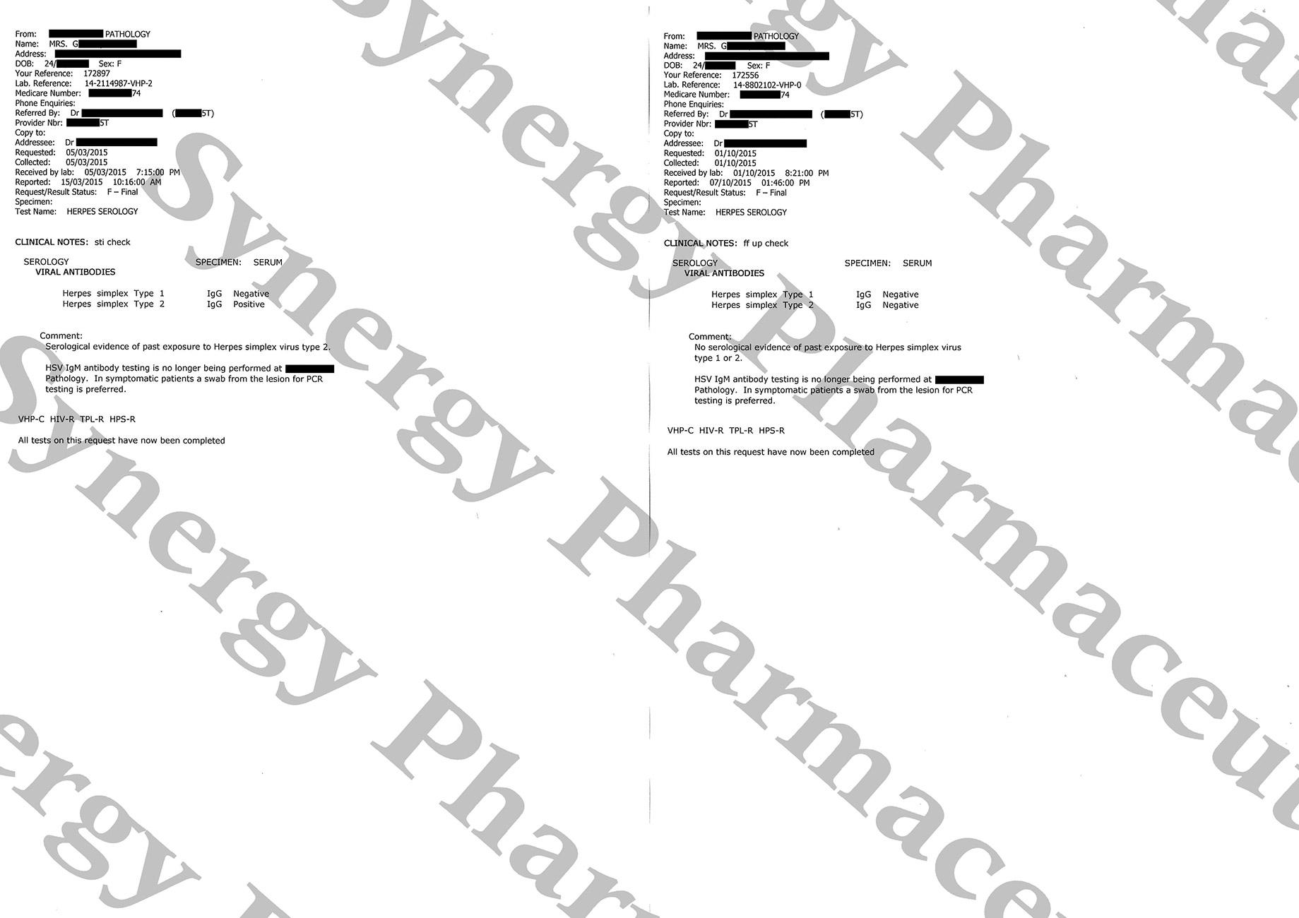 Results medication products for herpes - Treatment 4 Herpes